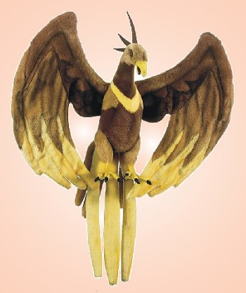 stuffed toys - Stuffed Phoenix - Mythical Creatures