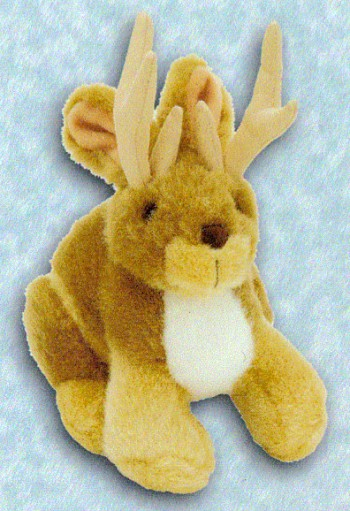 Stuffed Plush Jakalope