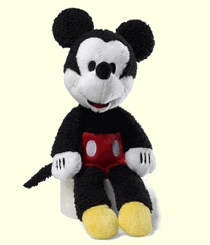 Gund Stuffed Plush Mickey Mouse