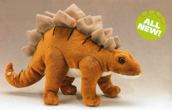 Wildlife Artists Stuffed Plush Stegosaurus