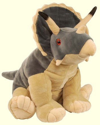 Wild Republic Cuddlekins Stuffed Plush Triceratops