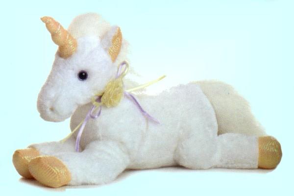 stuffed toys - Stuffed Unicorn - Mythical Creatures